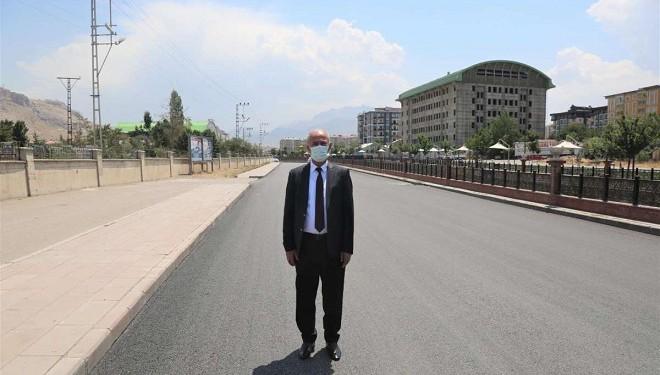 Tuşba'nın cadde ve sokakları yenilendi