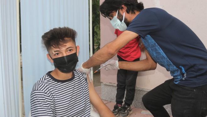 Çatak'ta korona virüs aşı seferberliği
