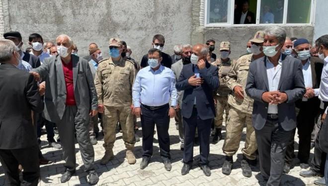 Çaldıran Belediye Başkanı Şefik Ensari'nin acı günü