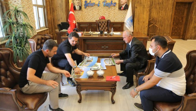 Başkan Akman yapılacak spor yatırımlarını değerlendirdi