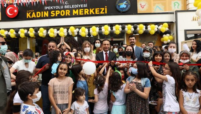 İpekyolu'nda ücretsiz kadın spor merkezine bir yenisi daha eklendi