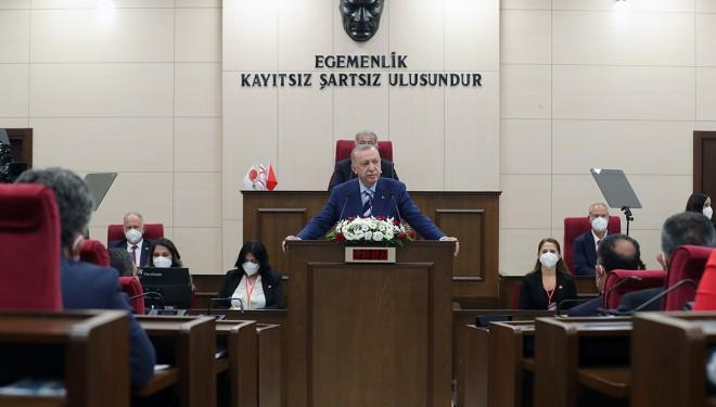 Cumhurbaşkanı KKTC meclisinde merakla beklenen müjdeyi açıkladı