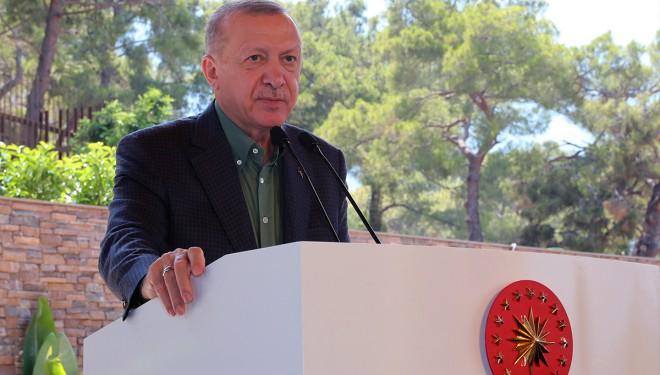 Cumhurbaşkanı Erdoğan'dan KKTC'de flaş açıklamalar