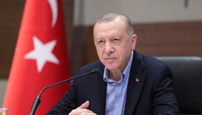 Erdoğan: 'Biz olumlu cevap vermediğimiz sürece Güney Kıbrıs NATO'ya giremez'
