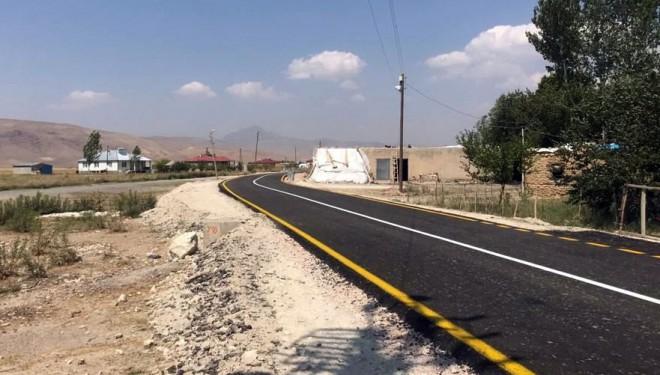 Büyükşehir, sakalar mahalle yolunu asfaltladı