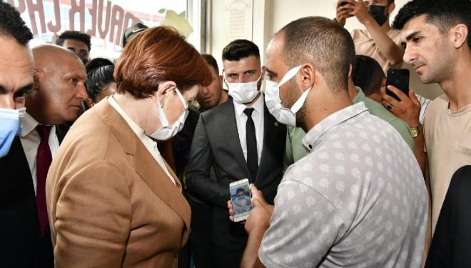 İyi Parti Lideri Meral Akşener Van'da vatandaşın geçim sıkıntısını dinledi