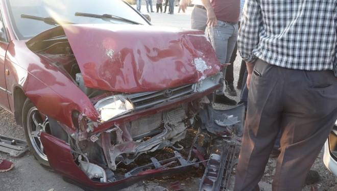 Van'ın Erciş ilçesinde trafik kazası!