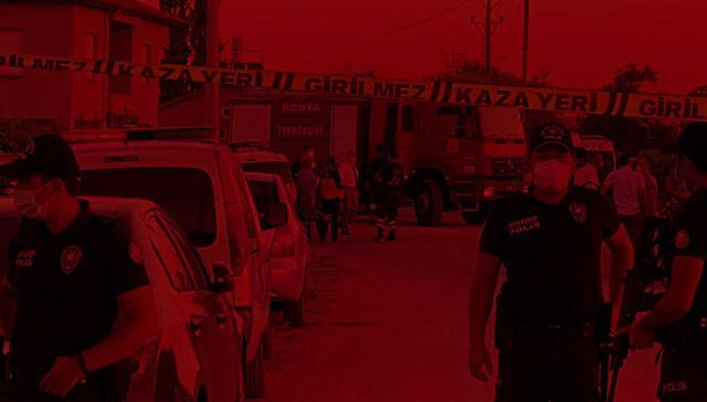 Konya'daki katliama ilişkin peş peşe açıklamalar!