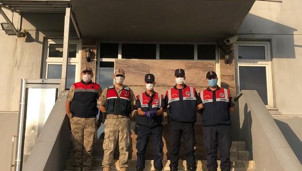 Jandarma ekiplerinin bulduğu ebabil kuşu tedavi altına alındı
