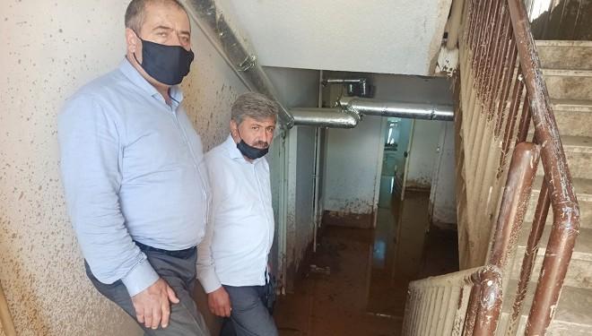 HÜDA PAR İpekyolu İlçe Teşkilatından Sel Mağdurlarına Ziyaret