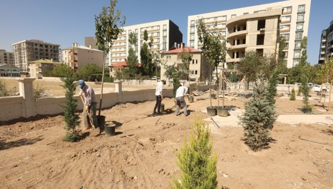 İpekyolu Belediyesinden ilçeye 15 yeni park