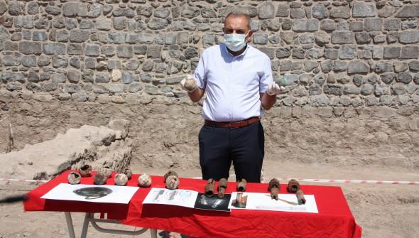Diyarbakır'da 782 adet 1. Dünya Savaşına ait el bombası bulundu
