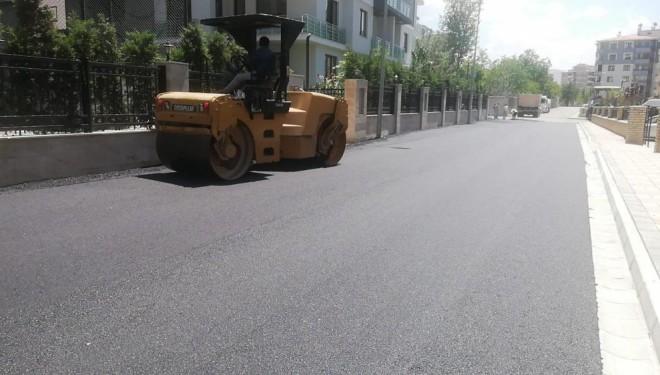 İpekyolu Belediyesinden sıcak asfalt çalışması