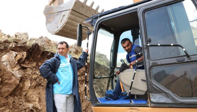 VASKİ Genel Müdürü Kaplan, İspiris Dağı'ndaki çalışmaları yerinde inceledi