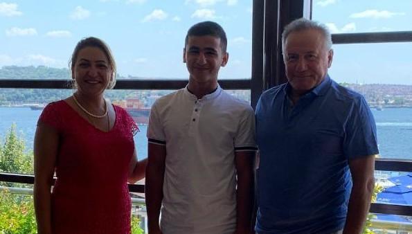 Van'da babasının hastalığından yola çıkarak icat çıkarmıştı; artık İstanbul'da okuyacak