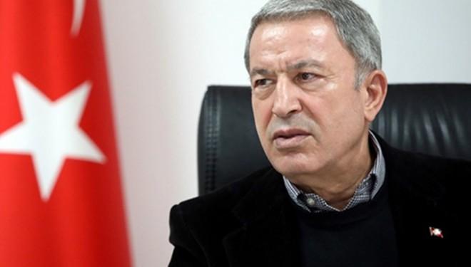 """Milli Savunma Bakanı Akar'dan """"tahliye"""" açıklaması"""
