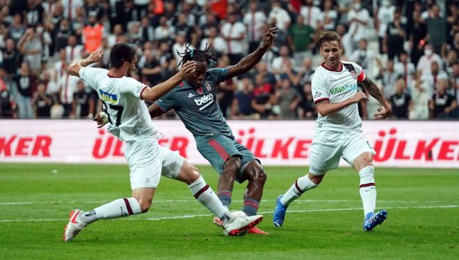 Beşiktaş: 1 - Fatih Karagümrük: 0 (Maç sonucu)