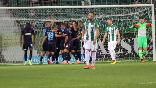 Trabzonspor seriye bağladı
