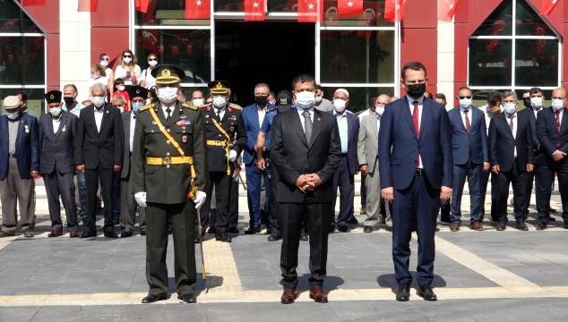 Erciş'te 30 Ağustos Zafer Bayramı'nın 99. yıl dönümü coşkuyla kutlandı