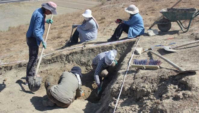 Urartuların surları yeniden inşa ediliyor