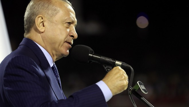 Erdoğan: 'Bu milleti millet yapan zaferleri yarıştırmak kimsenin haddi değil'