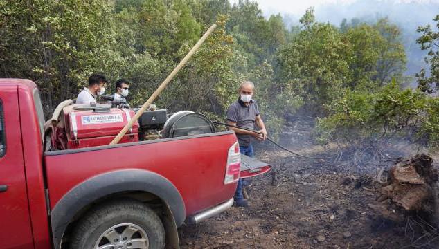 Şemdinli'de orman yangını kontrol altına alındı