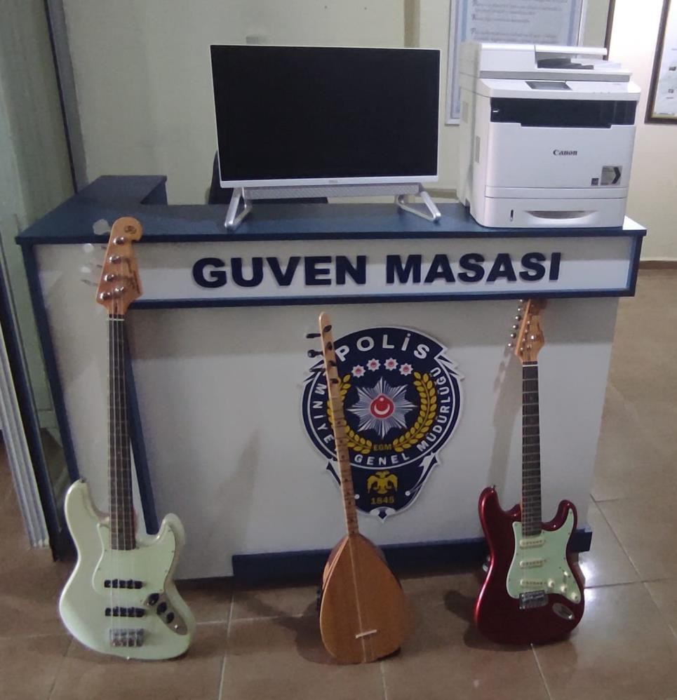 Başkale'de bir iş yerinden elektronik ve müzik aletleri çalan hırsızlık şüphelisi yakalandı