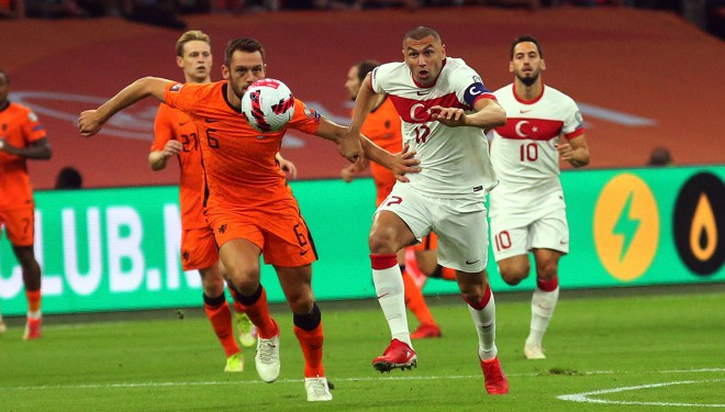 A Milliler, Hollanda deplasmanında ağır mağlubiyet aldı