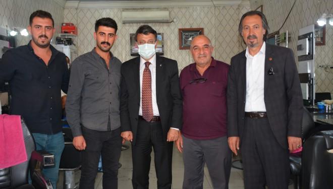 Başkan Türkmenoğlu, Ahilik programı kapsamında esnafı ziyaret etti