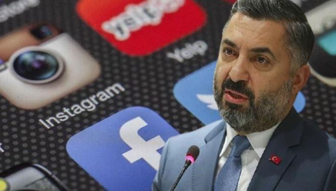 RTÜK Başkanı Ebubekir Şahin'den 'sosyal medya' düzenlemesi açıklaması