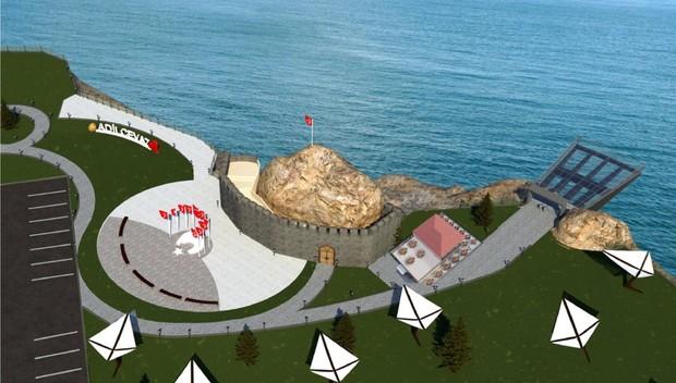 Van Gölü manzaralı seyir terası yapılacak