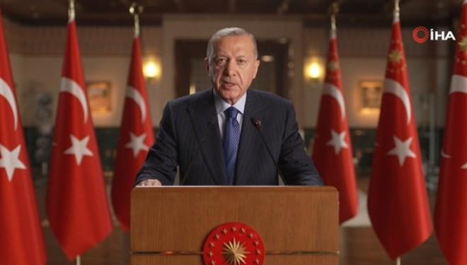 Cumhurbaşkanı'ndan BM Enerji Diyaloğu Toplantısı'na video mesaj