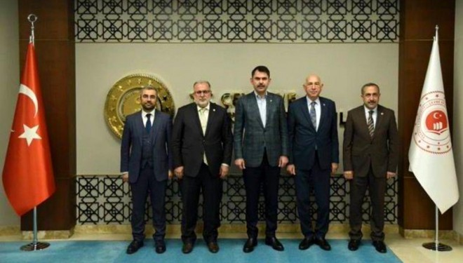 AK Partili heyet Bakan Kurumu