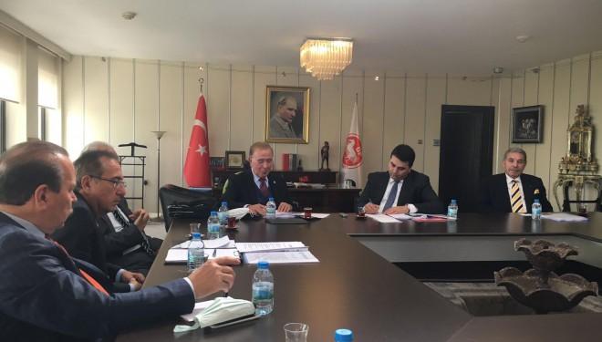 OAPGD, Demokrat Parti Genel Başkanı Gültekin Uysal'a ziyaret