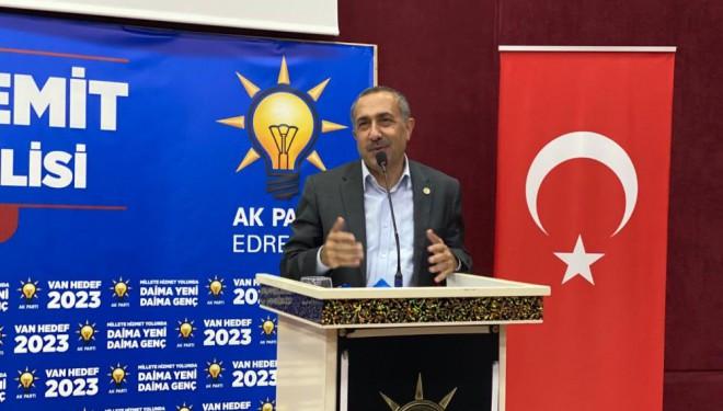 """Milletvekili Arvas,""""Erdoğan'sız bir Türkiye tahayyül edenler"""
