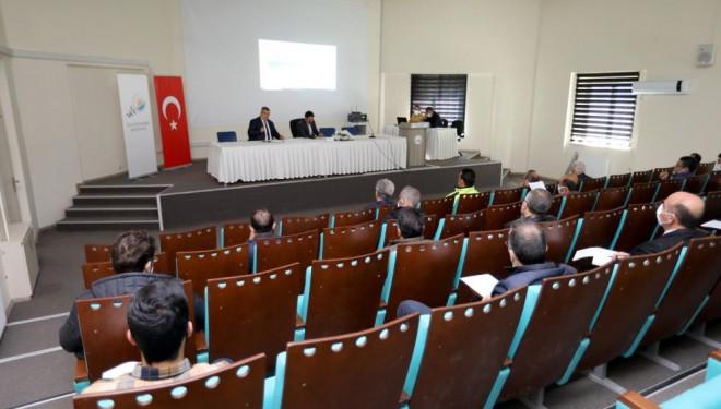 Van Büyükşehir Belediyesi UKOME toplantısı yapıldı