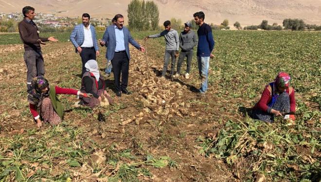 Başkan Süer, şeker pancarı üreticileriyle buluştu