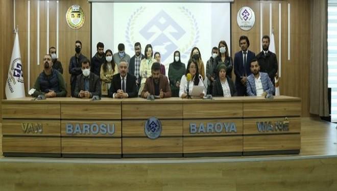 Van Barosu Başkanı Uçar: Cezaevlerinde hak ihlalleri çok rahat yaşanıyor