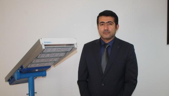 İranlı Reza'nın yaptığı sokak lambası, altın madalya aldı