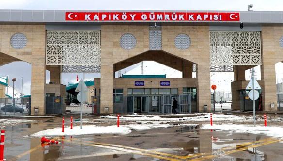 Van'a 2020 yılında Kapıköy Sınır Kapısı'ndan giriş yapan turist sayısı yüzde 94 azaldı!