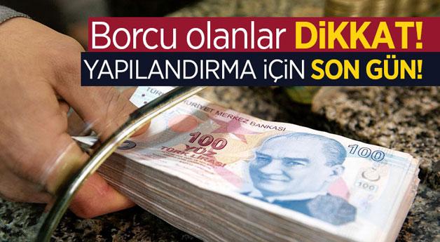 SGK, vergi borcu ve trafik cezalarının yapılandırması için...