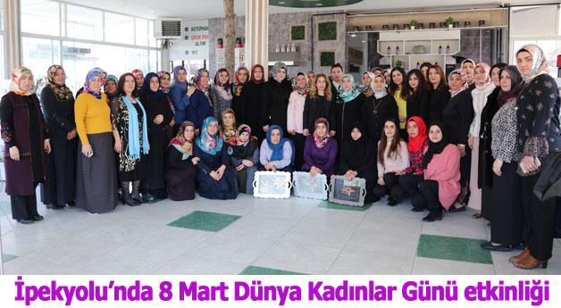 İpekyolu'nda 8 Mart Dünya Kadınlar Günü etkinliği