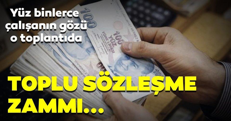 Türk İş toplu sözleşme görüşmelerindeki zam teklifini açıkladı