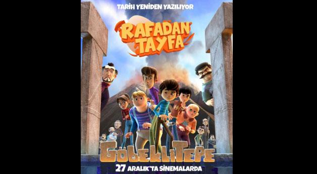 Rafadan Tayfa 2: Göbeklitepe (Animasyon, Macera)