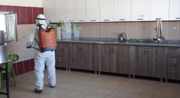 Saray Belediyesinden dezenfekte çalışması