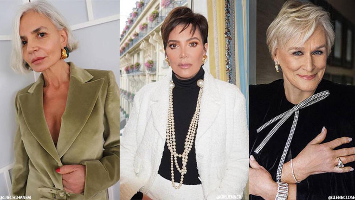 -50 Yaş ve Üzeri Kadınlara Hitap Eden Saç Modelleri