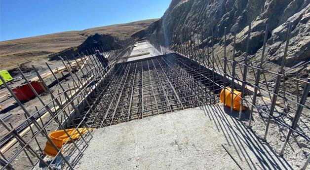 Özalp ilçesinde baraj çalışması