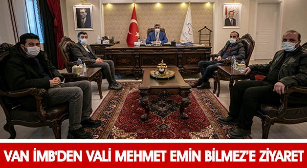 Van İMB'den Mehmet Emin Bilmez'e Ziyaret