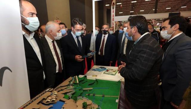 Van Büyükşehir Belediyesi, Tarım Hayvancılık ve Gıda Fuarına katıldı (VİDEO)