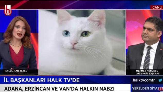 """CHP Van İl Başkanı Kurukcu """"Yerelden Siyaset"""" programında konuştu"""